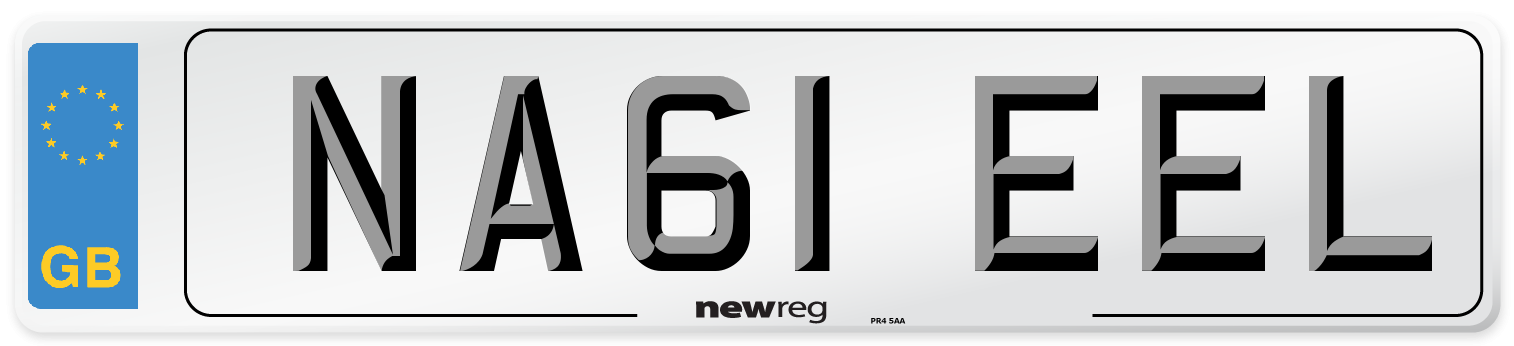 NA61 EEL Number Plate from New Reg